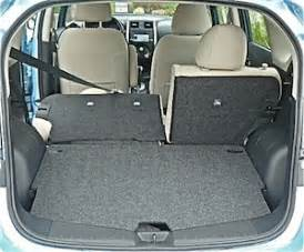 Nissan Note Trunk 2014 Nissan Versa Note Road Test Bigger Than It Looks And