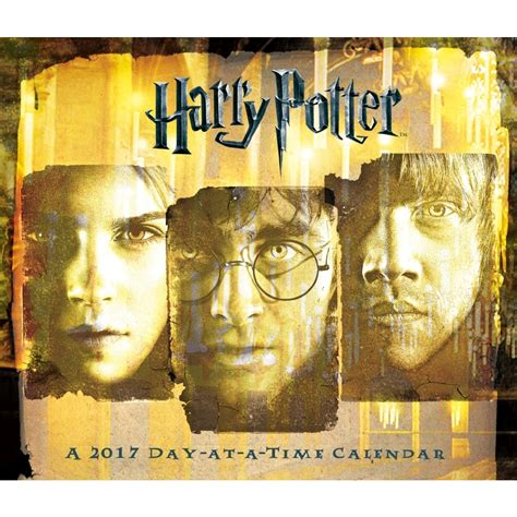 harry potter desk harry potter 2017 desk calendar 9781438848617