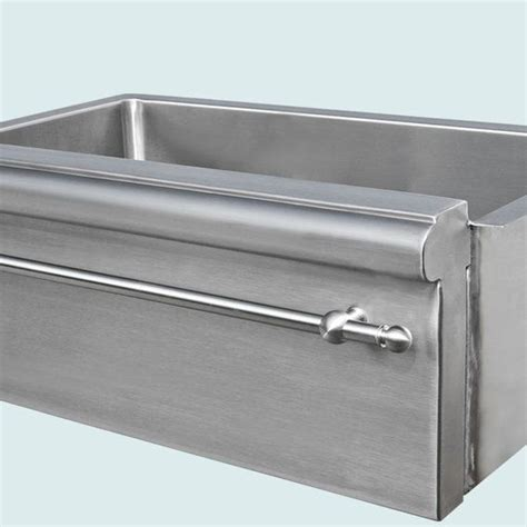 stainless steel apron sink with towel bar 1000 images about sink on stainless steel