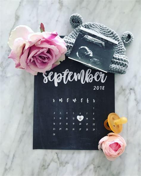 template baby pool calendar template