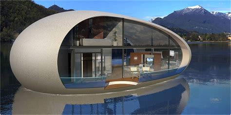 Mobile Home Interior Design Uk by Casa Di Lusso Galleggiante Gioiello Di Design