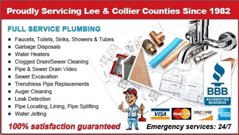 Dave Miller Plumbing by The Plumbers Plumber Inc Fort Myers Fl 33909