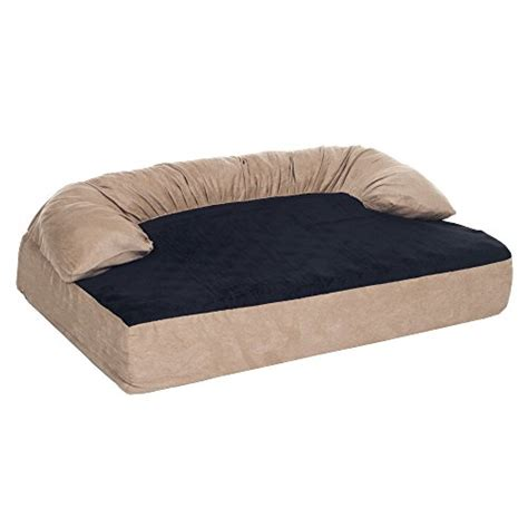 cheap pet beds cheap petmaker orthopedic memory foam pet bed with bolster