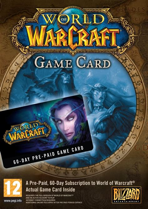 World Of Warcraft Gift Cards - buy world of warcraft 60 days card battle net