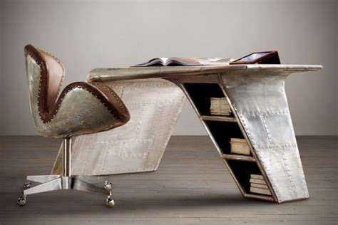 aviator wing desk by restoration hardware mikeshouts