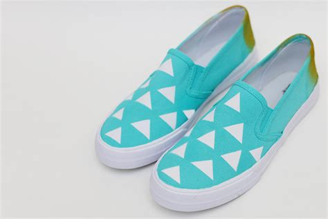 painted shoes diy diy geometric painted shoes tutorial sew much ado