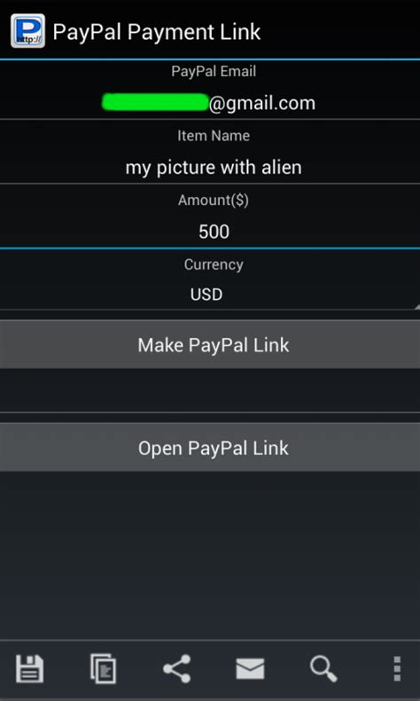 generate apk link free paypal payment link generator apk for android getjar