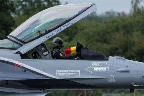 royal international air tattoo 2013 baf f 16 demo pilot