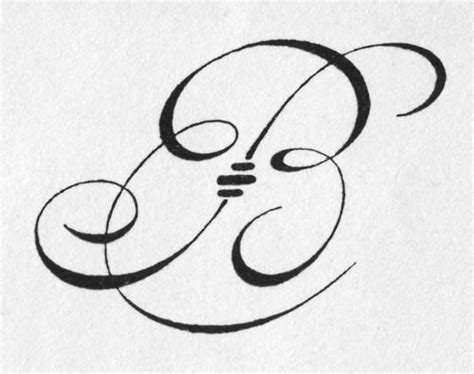 tattoo lettering reference a big b from jean loisy lettres 1948 for the home