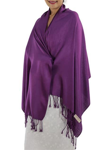Scarf Purple a special deal on a beautiful purple pashmina scarf