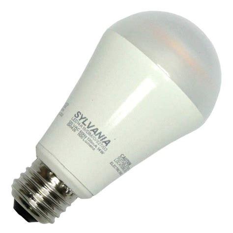 Sylvania Led Light Bulbs Sylvania 79084 Led14a19 Dim O 827 G3rp A Line Pear Led Light Bulb Elightbulbs