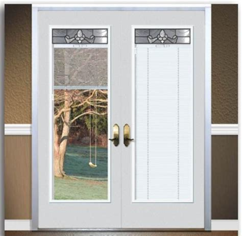 Exterior Door With Built In Blinds Fiberglass Patio Doors With Built In Blinds Images About Desain Patio Review