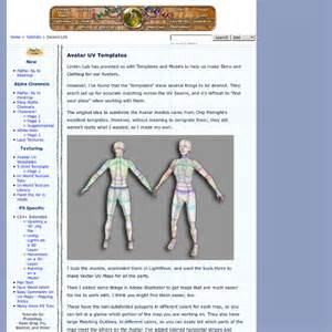 chip midnight templates avatar uv texture quot templates quot for use in linden lab s