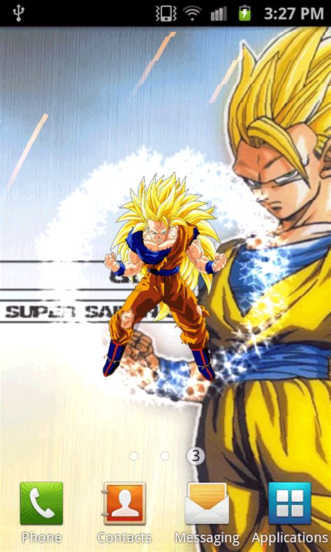 Dragon Ball Super Saiyan Android Live Wallpaper Apk | free dragonballz live wallpaper apk download for android