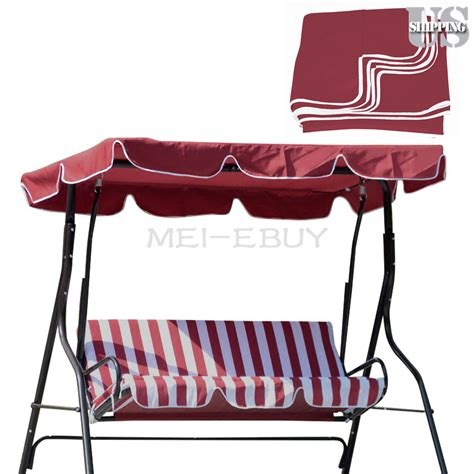 swing seat canopy cover patio outdoor garden swing 300d canopy replacement porch