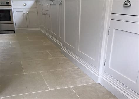 Tile Kitchen Floor by Limestone Is Proving More And More Popular For A