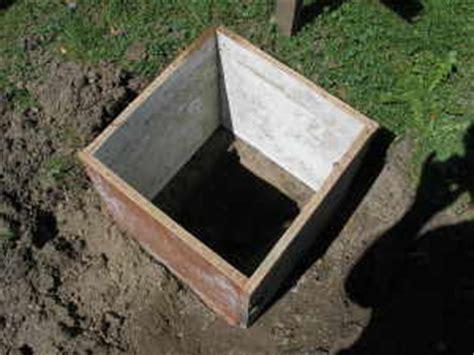 punktfundament carport carport selber bauen fundamente f 252 r den carport