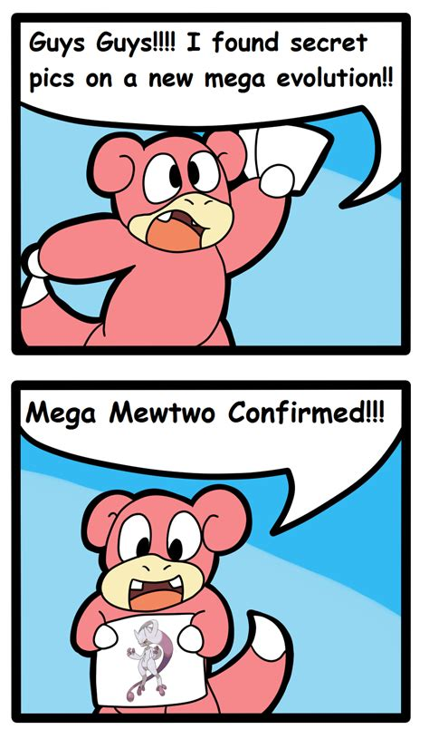 Slowbro Meme - breaking news on megas by vulpinekeyblader on deviantart
