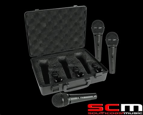 Mic Behringer Ultravoice Xm1800s 3 Cardioid Vocal And I Diskon behringer ultravoice xm1800s dynamic cardioid mics 3 pack