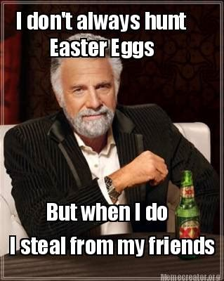 Easter Memes - happy easter fellow noobs the nourishing noobs