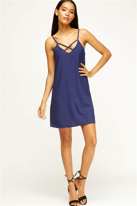 swing slip dress criss cross swing slip on dress 3 colours just 163 5
