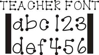 26 free fonts for teachers teach junkie