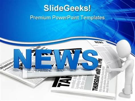 fucmentrefbi newspaper template for powerpoint