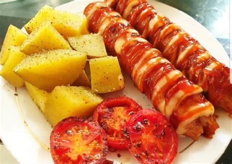 resep barbeque sausage oleh sintia yosita cookpad
