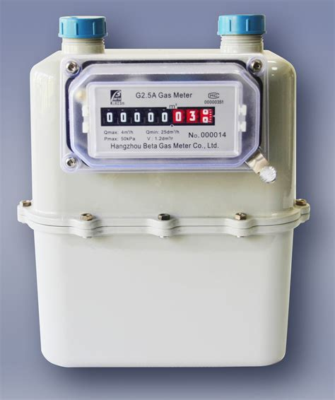 Meter Gas China Diaphragm Gas Meter G2 5 A China Aluminum Gas Meter