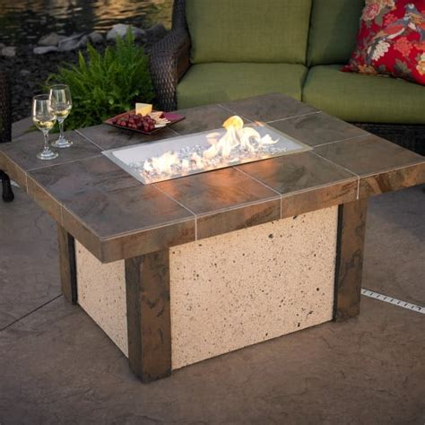 outdoor greatroom table rivers edge pit table