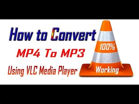 how to convert mp4 to mp3 with vlc media player youtube wmv to mp4 vlc convert wmv to mp4 via vlc