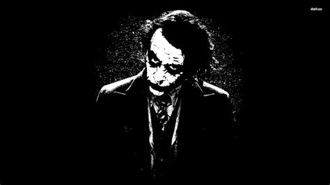 Black And White Joker Wallpaper | 48652 black and white joker batman 1920x1080 movie