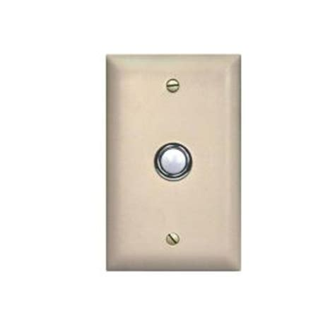 viking door bell button panel vk db 40 wh the home depot