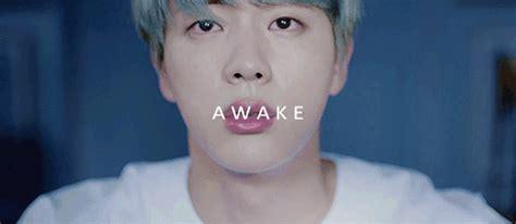 bts jin awake bts jin awake gifs army s amino