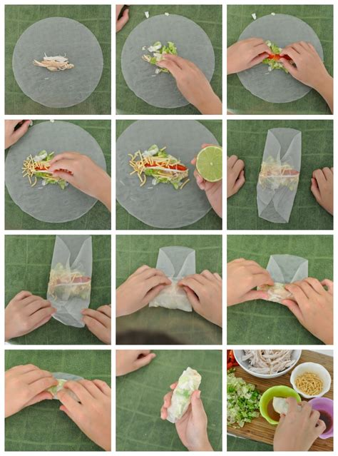 How To Make Rice Paper Rolls - simple family meal ideas with be a