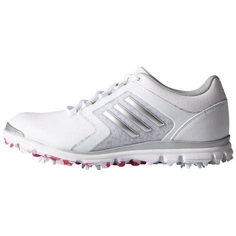 adidas womens adistar tour golf shoes white silver raspberry carl s golfland