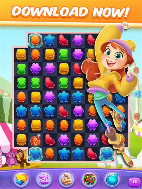 Crushed Apple Adventure cookie crush match 3 on the app store