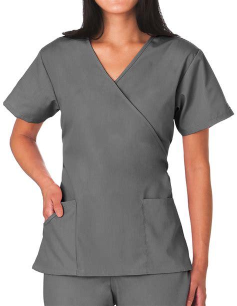 Best Quality Basic Mock Bl818 shop grey scrubs basic trendy styles pulse