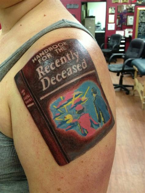beetlejuice tattoo beetlejuice handbook for the recently deceased
