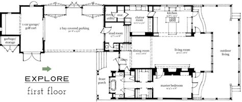 Southern Living Floorplans Palmetto Bluff Idea House Southern Living