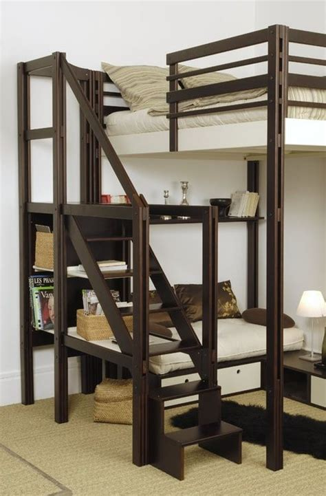 loft style bunk beds exploring tiny house living loft style bunk bed with
