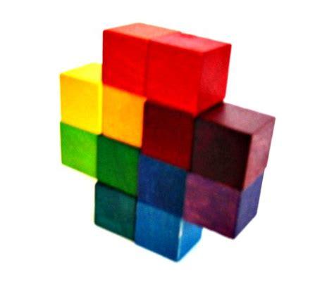 color block puzzle folding