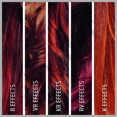 goldwell red hair color chart goldwell topchic effects glamot com