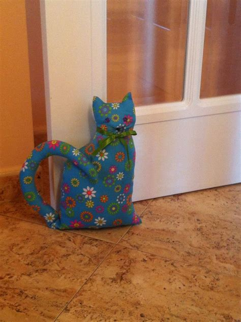 Patchwork Door Stop Pattern - gato sujeta puertas sewing patterns