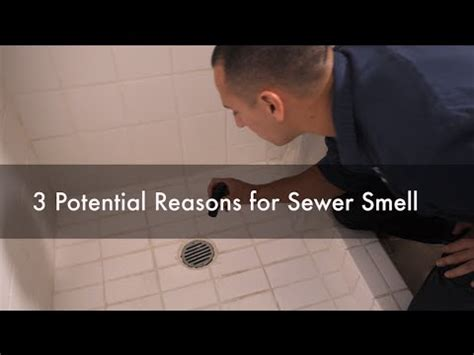 sewage smell coming from bathroom why do i have a sewer smell in my bathroom 3 potential