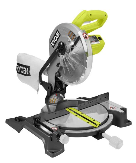 Ryobi 10 Inch Compound Miter Saw With Laser The Home