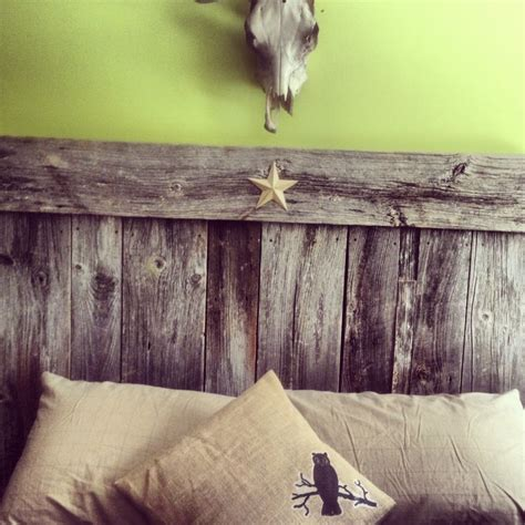 diy barn board headboard 17 best images about good night on pinterest diy