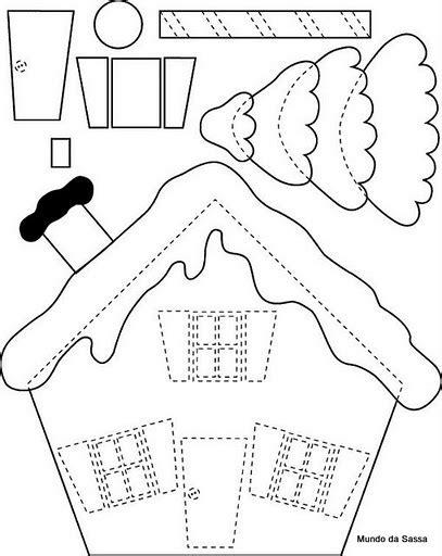 felt house template ideas de manualidades cojines navide 241 os