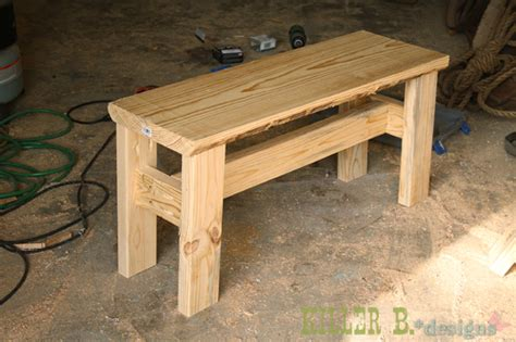 how to make a rustic bench popular diy garden benches you can build it yourself fall home decor