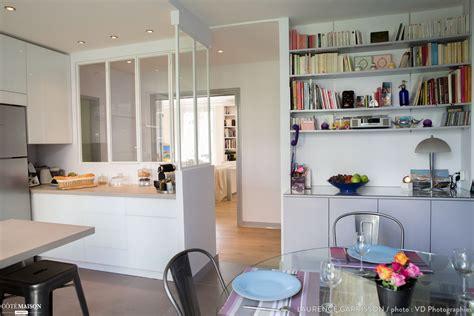 cuisine ouverte avec verri鑽e epure et design pour une cuisine verri 232 re 224 neuilly
